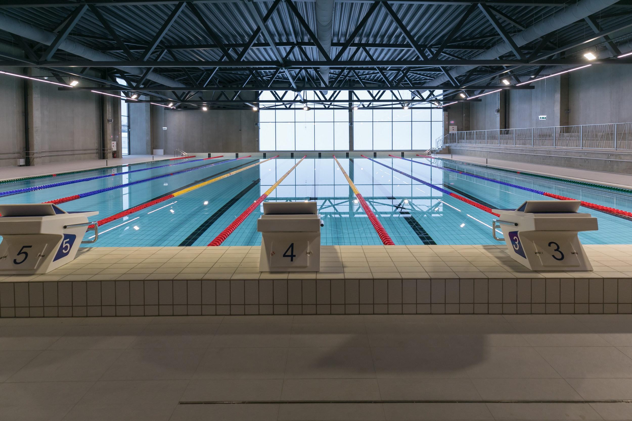 Vilniečių laukia ypatinga naujametė dovana: atidaromas Fabijoniškių baseinas   Vilniaus miesto savivaldybės nuotr.