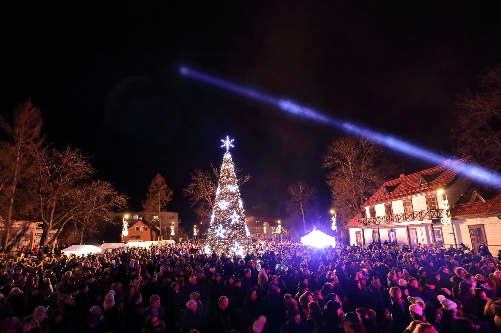 Kalėdos Birštone: per 40 renginių ir norus pildantis stebuklingas fėjų skveras   V. Grigo nuotr.