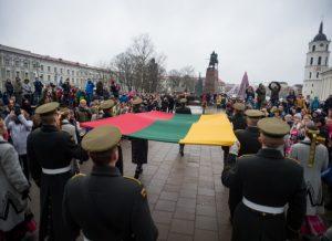 Vilniuje sausio 1-ąją bus minimos Lietuvos vėliavos iškėlimo Gedimino pilies bokšte 100-osios metinės | Alfredo Pliadžio (KAM) nuotr.