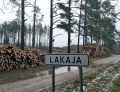 Iškirstas Lakajos kraštovaizdžio draustinis | Asmeninė nuotr.