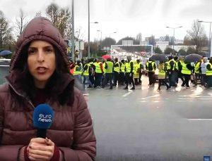 Geltonųjų liemenių protestas | youtube.com nuotr.