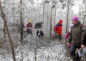 Žiemos žygis Tyruvėnų regioniniame parke | D. Pranckūnienės nuotr.