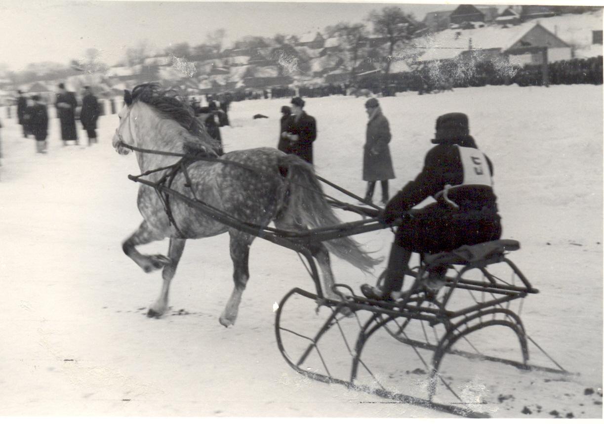 Sartų žirgų lenktynės 1956 m. | Sartų ir Gražutės regioninių parkų direkcijos nuotr.