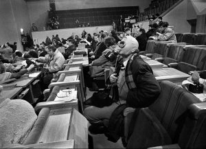 Naktis Aukščiausiosios tarybos rūmuose | R. Požerskio nuotr.