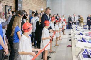 Naujametė dovana vilniečiams – atidarytas naujas baseinas Fabijoniškėse | Vilniaus miesto savivaldybės nuotr.