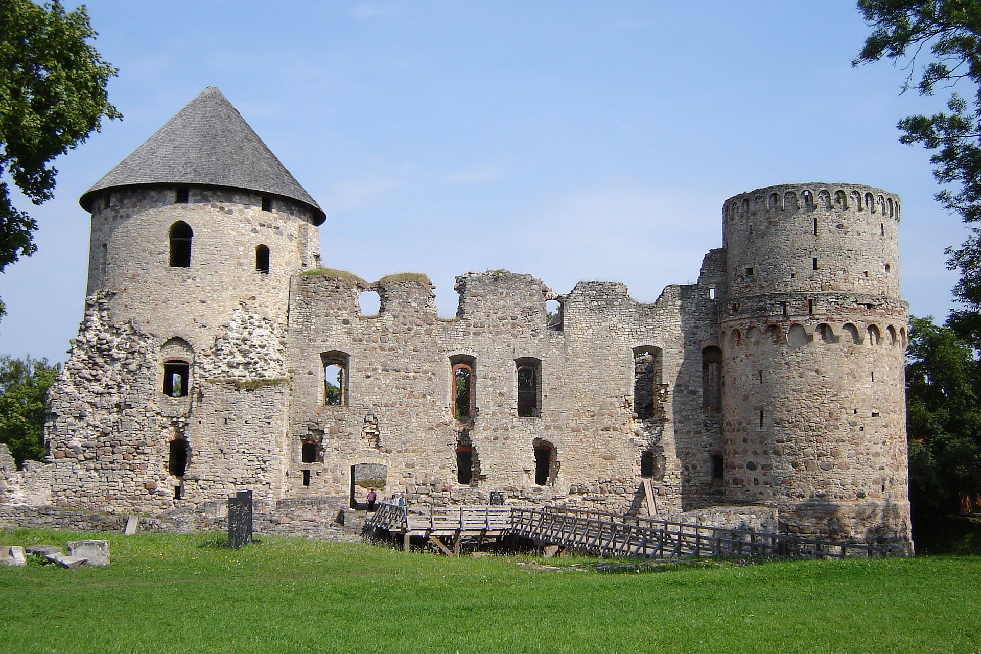Cėsių (Ordensburgo) pilis | wikipedia.org nuotr.