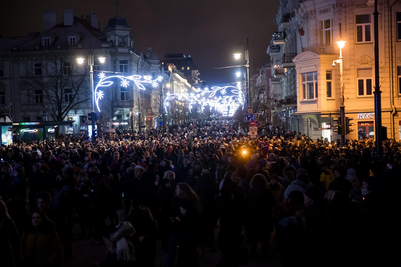 Vilnius pasitinka 2019 metus | D. Pipo nuotr.