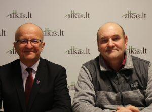 Alvydas Vaiciekauskas ir Gerimantas Statinis   Alkas.lt nuotr.