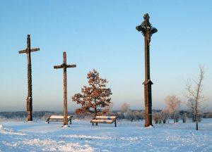 Kryžiai Klepočiuose | A. Ir M. Černiauskų nuotr.