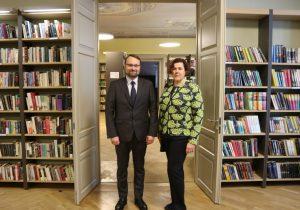 Mindaugas Kvietkauskas ir Emilija Banionytė | LRKM nuotr.