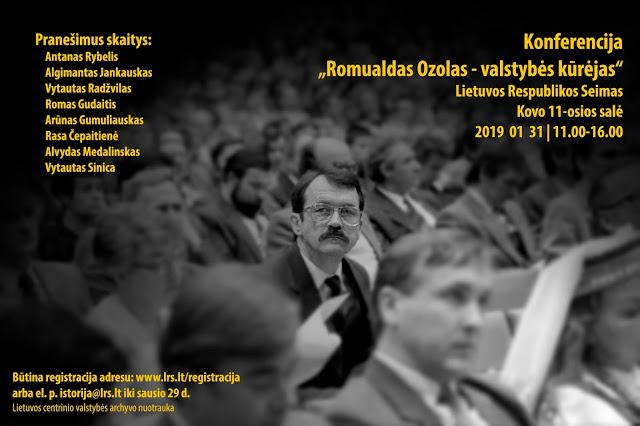 Ozolo konferencija (plakatas 1)