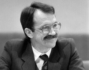 Romualdas Ozolas, 1990 m. kovo mėn. | A.Sabaliausko nuotr.