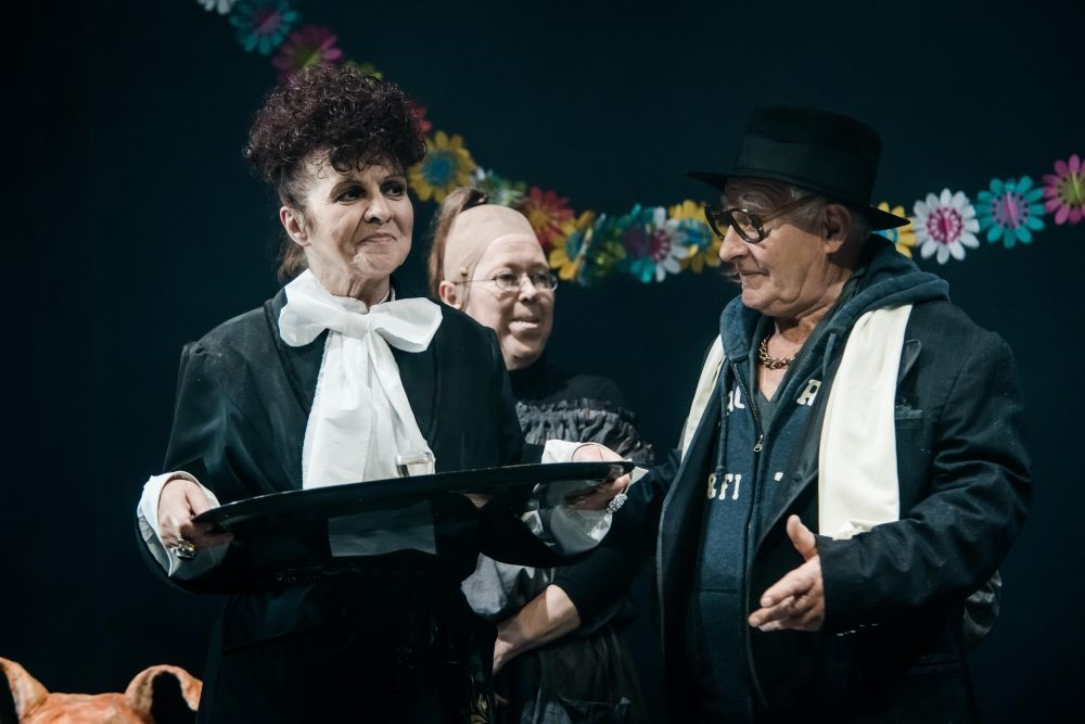 "Spektaklis ""Marti"" ir G. Girdvainis   L. Vansevičienės nuotr."
