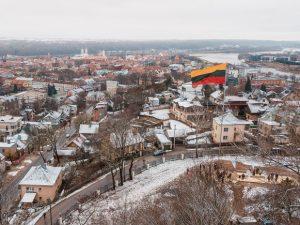 Trispalvė virš Kauno | Kauno sav. nuotr