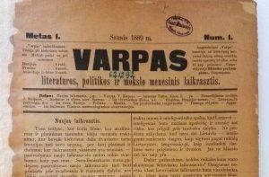 Varpas 1889 Nr1.