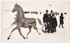 Sartų žirgų lenktynės XX a. 6 deš. | Sartų ir Gražutės regioninių parkų direkcijos nuotr.