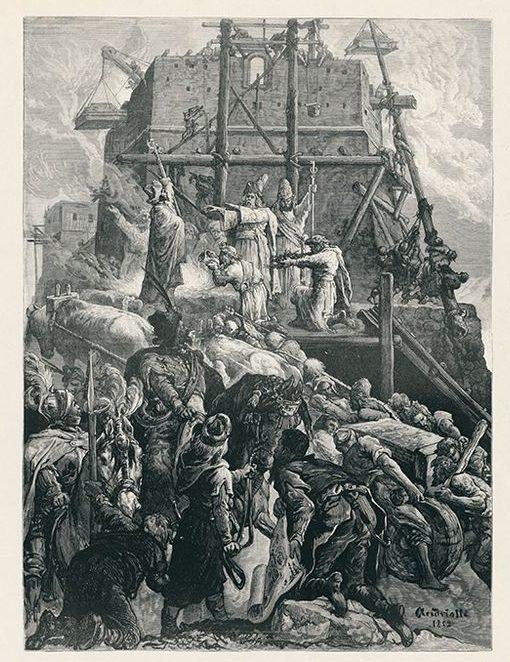 Mykolas Elvyras Andriolis. Gediminas įkuria Vilnių. 1882 m. | LDM nuotr.
