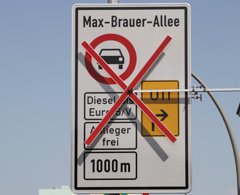 Taip atrodė ruošiami ženklai Hamburge | wikimedia.org