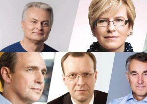 Kandidatai į Prezidento postą   KTU.lt nuotr.