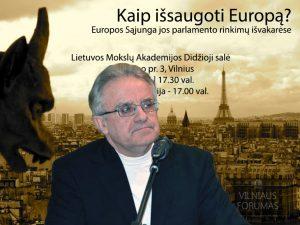 prof. Vytautas Radžvilas | Alkas.lt koliažas