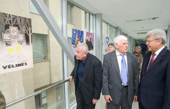Henrikas Gudavičius, Steponas Lukoševičius ir Stanislovas Stankevičius Seime | voruta.lt nuotr.