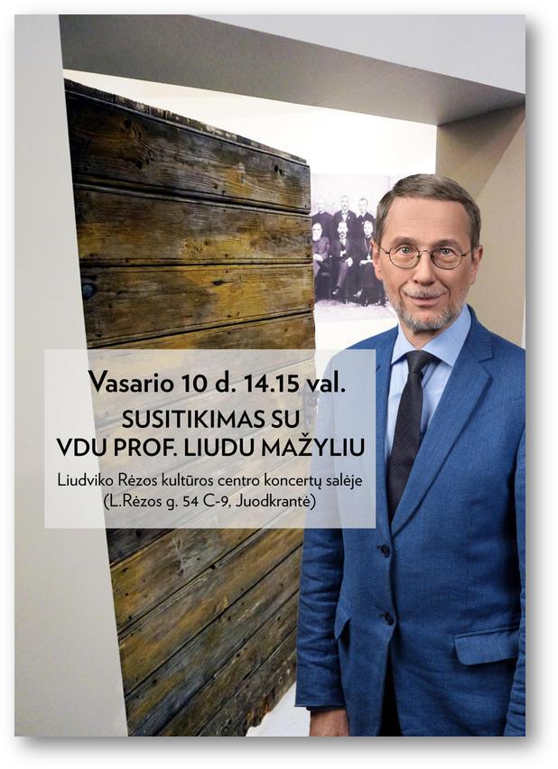 2019 02 10 Susitikimas su VDU prof. Liudu Mažyliu