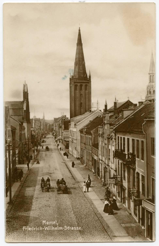 Mėmelis, Frydricho Vilhelmo (Friedrich Wilhelm) gatvė | epaveldas.lt nuotr.