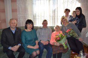 Girkaliuose gyvenanti 107 m. Ieva Kalvienė | klaipedos-r.lt nuotr.
