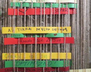 IX forto muziejaus lankytojų linkėjimai | 9fortomuziejus.lt nuotr.