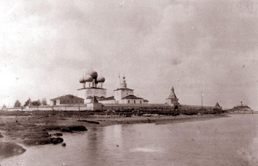 Nikolo-Korelskio vyrų vienuolynas prie Baltosios jūros, 1886 m. | wikipedia.org, V. Suslovo nuotr.