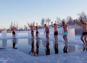 Ledinės eketės iššūkis Radviliškyje | sveikuoliai.lt nuotr.