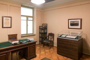 Signatarų namų ekspozicija   K. Stoškaus nuotr. Lietuvos nacionalinis muziejus