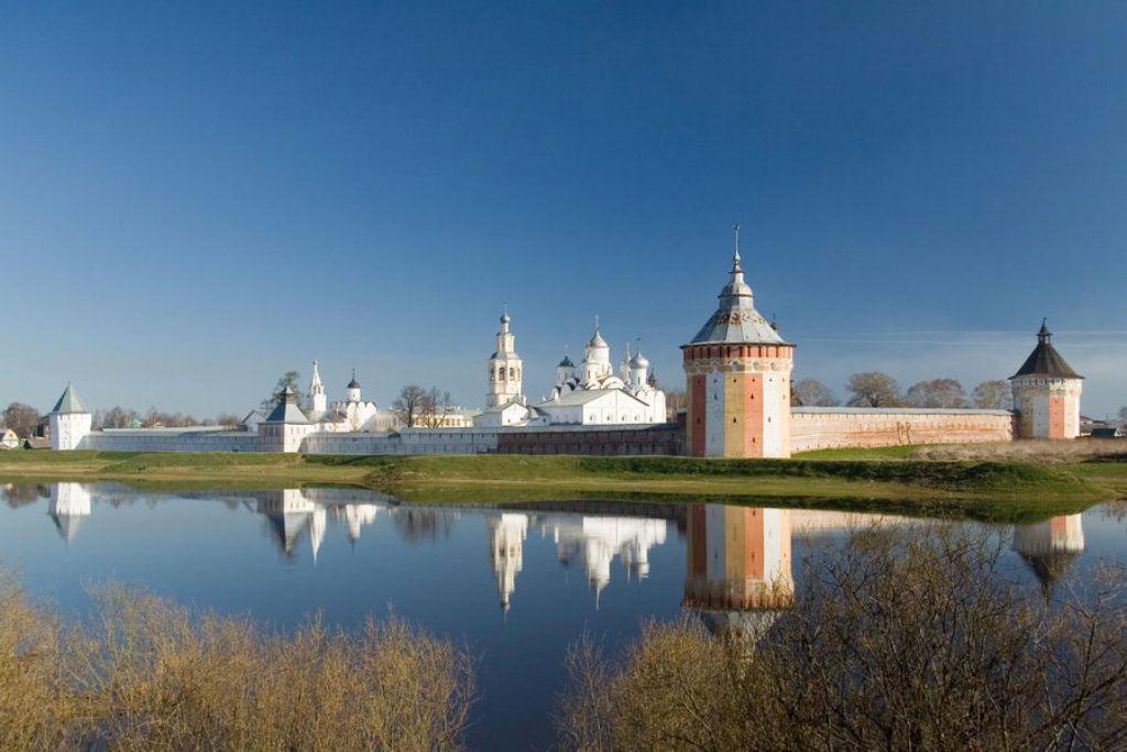 Spaso-Priluckio (Спасо-Прилуцкий) stačiatikių vyrų vienuolynas šalia Vologdos | booksite.ru nuotr.
