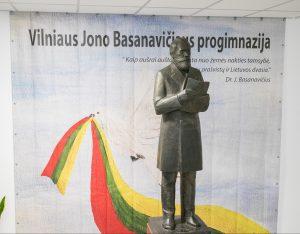 J. Basanavičiaus skulptūra | S. Žiūros nuotr.