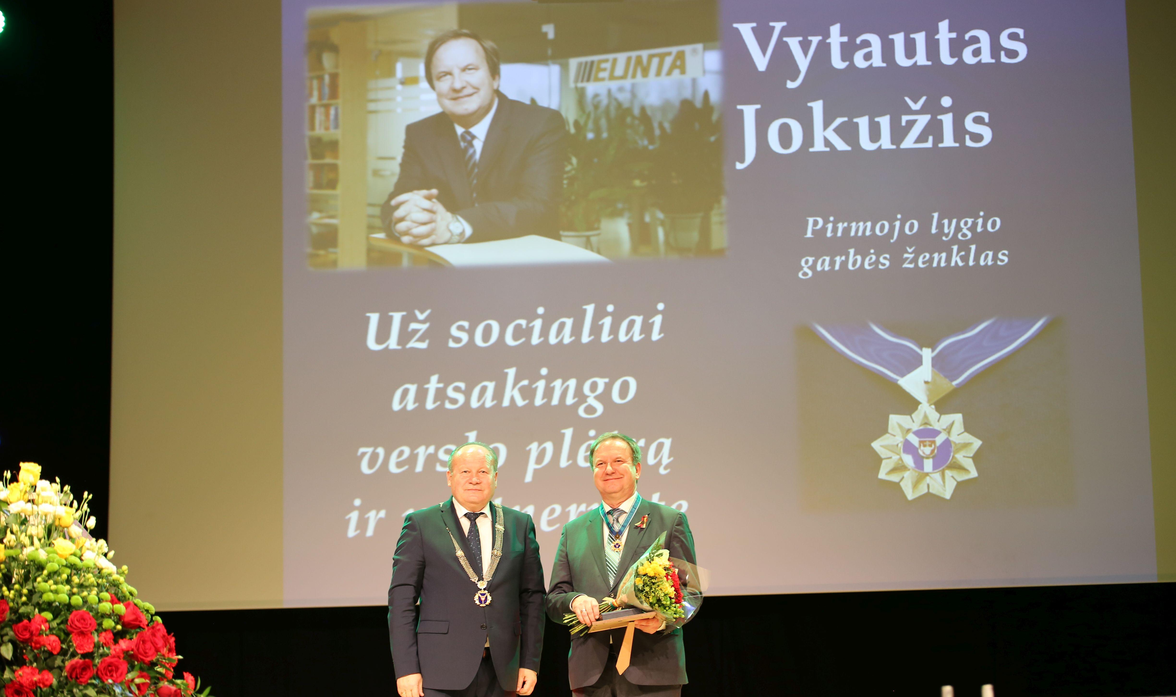Kauno rajono savivaldybės apdovanojimai – dešimčiai nusipelniusių žmonių | Kauno rajono savivaldybės nuotr.