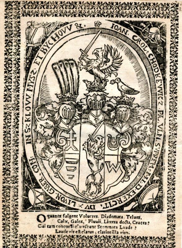 Jono Karolio Chodkevičiaus herbas | wikipedia.org nuotr.