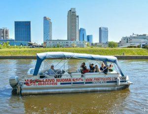 Paįvairinkite savo šventes – išsinuomokite laivą | partyboats.lt nuotr.