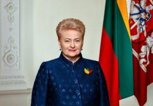 Lietuvos respublikos prezidentė Dalia Grybauskaitė   lrp.lt nuotr.