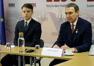 Linas Kojala ir dr. Arvydas Juozaitis | Alkas.lt nuotr.