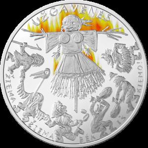 Kolekcinė moneta, skirta Užgavėnėms | lbankas.lt nuotr.
