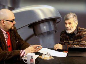 Vitalijus Balkus ir Saulius Lapienis | ISV nuotr.