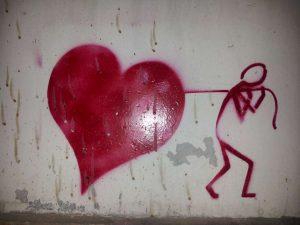 . Meilė nėra lengva. | V. Šaknio nuotrauka. 2014 rugpjūtis.