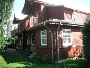 Treniotos g. 18. Namas iš šiaurės vakarų pusės   A. Stabrausko nuotr..