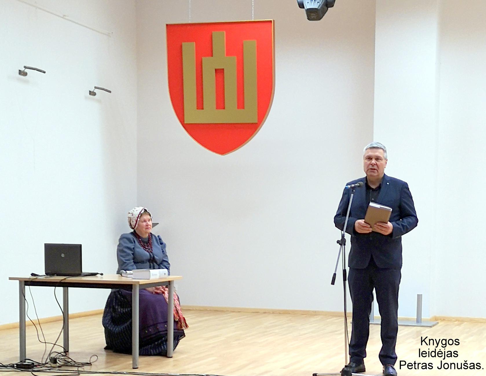 Knygos leidėjas Petras Jonušas | A. Grigaitienės nuotr.