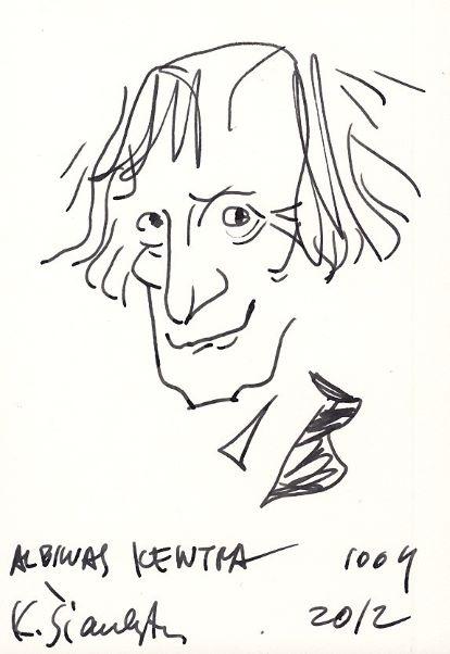 Albinas Kentra | K. Šiaulyčio piešinys - šaržas