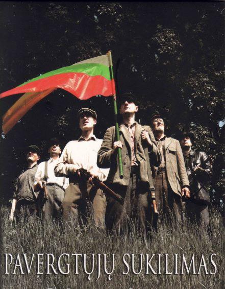 """Dokumentinio filmo """"Pavergtųjų sukilimas"""" DVD viršelis"""