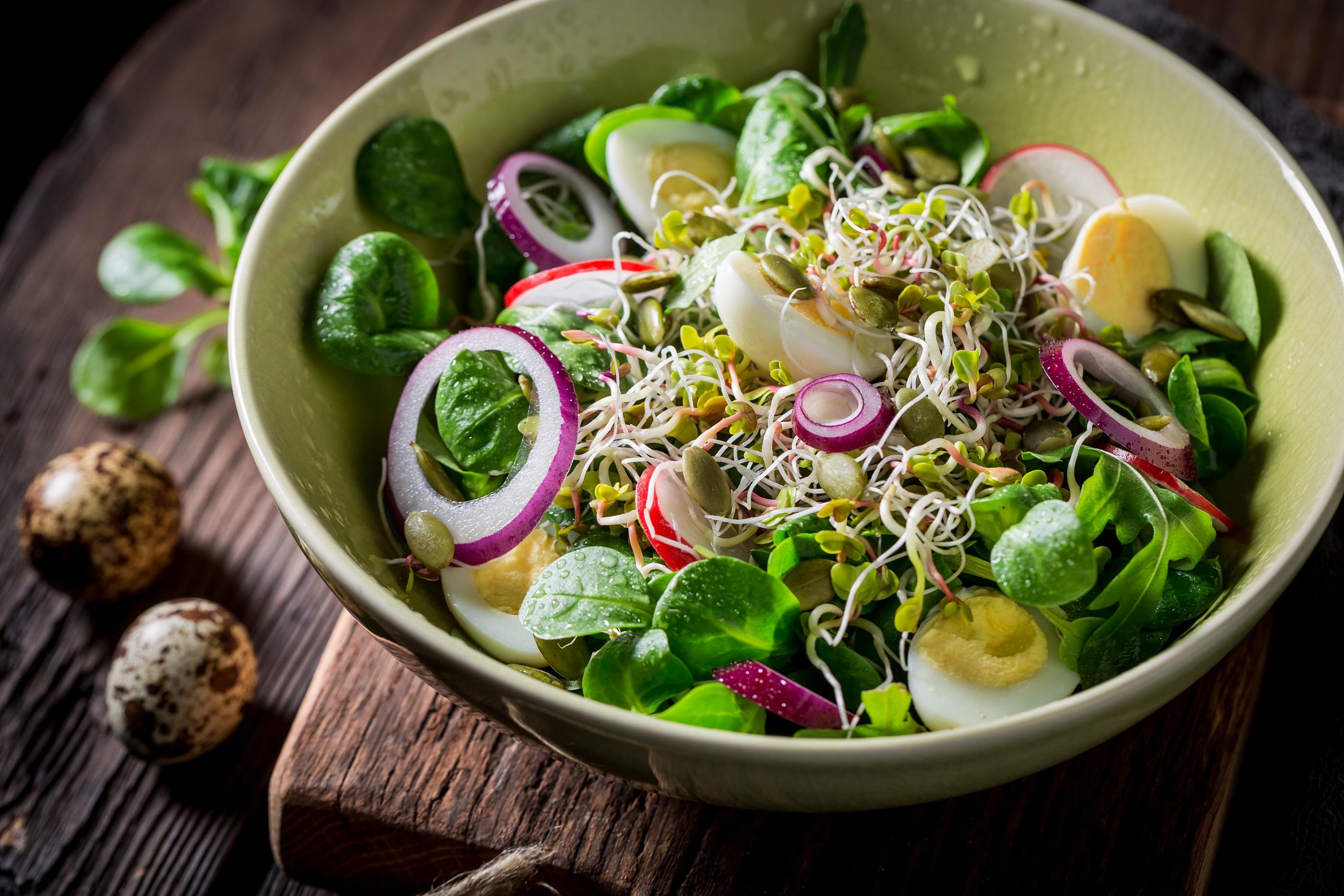 Daigai puikiai dera ivairiose salotose | V. Morkvėno nuotr.