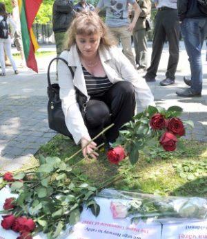 Gražina Leščinskienė, Norvegijoje kovojanti už savo sūnų | S. Zumbio nuotr.
