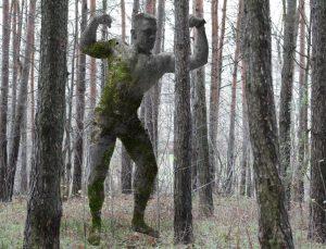 Mykolas Sauka. Viršuliškių miško parke | rengėjų nuotr.