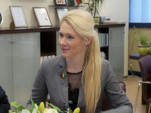 VRK pirmininkė Laura Matijošaitytė | Alkas.lt, J. Vaiškūno nuotr.